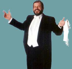 "John Peters ""Pavarotti act"""